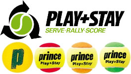 PLAY+STAYのスポンジボール・レッドボール・オレンジボール・グリーンボール