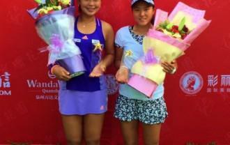 穂積絵莉プロが、ITF $50,000 Quanzhou Chinaにて優勝