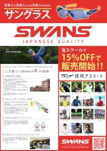 swans サングラス1