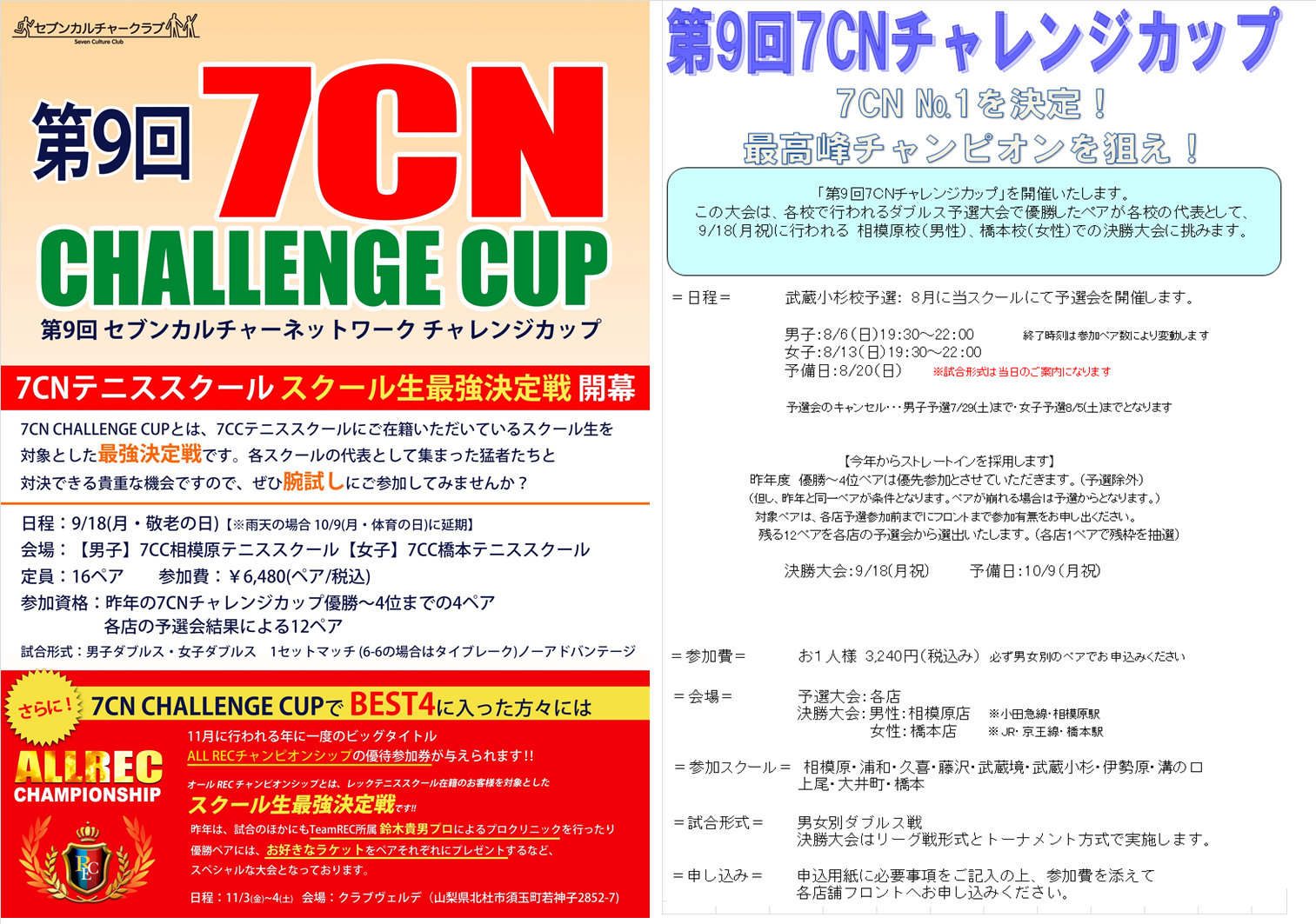 7CNチャレンジカップ