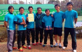 株式会社レック興発 テニスチームがビジネスパル・東京大会にて優勝
