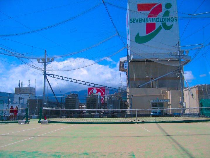 イトーヨーカドー伊勢原店5Fのテニススクール